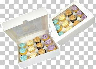 Cupcake Petit Four Box Muffin Bakery PNG