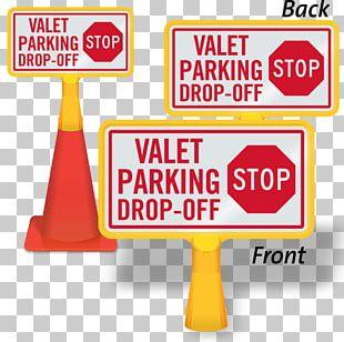 Traffic Sign Stop Sign Valet Parking PNG