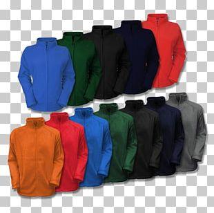 Cobalt Blue Plastic Jacket PNG