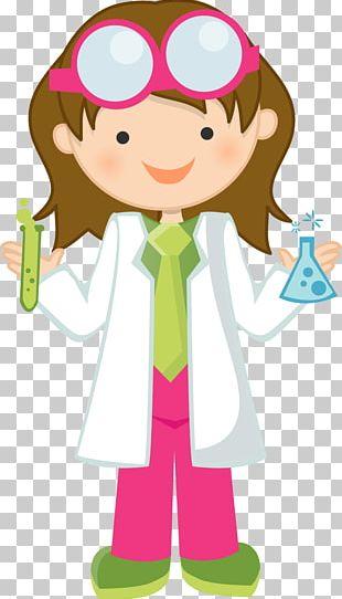 Scientist Science Girl PNG