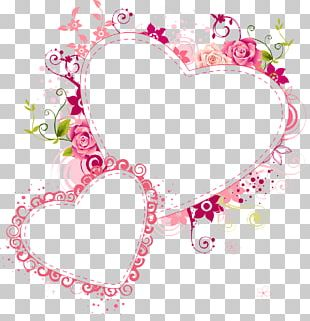 Paper Frames Heart Love PNG