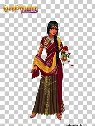 Costume Design Robe Lady Popular Tradition PNG