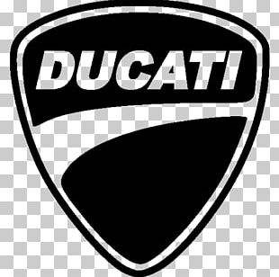Ducati Hypermotard Motorcycle Logo Decal PNG