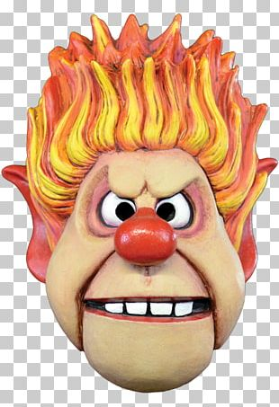 Heat Miser Snow Miser Costume Mask The Year Without A Santa Claus PNG