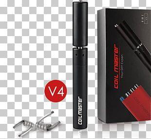 Electronic Cigarette Aerosol And Liquid Electromagnetic Coil Vape Shop Jig PNG
