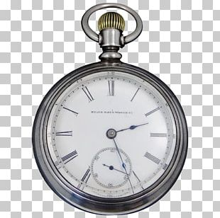 Pocket Watch Elgin National Watch Company Clock PNG