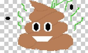 Pile Of Poo Emoji Pixel Art PNG