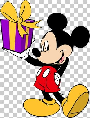 Mickey Mouse Minnie Mouse Goofy Donald Duck Birthday PNG