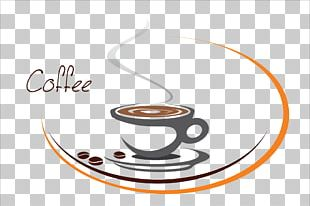 Coffee Cafe Tea Logo PNG