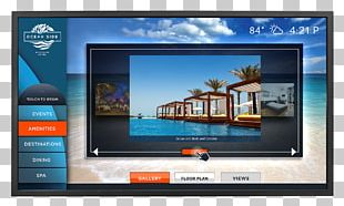 LED-backlit LCD Computer Monitors Planar Systems LCD Television Liquid-crystal Display PNG