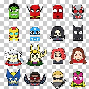 Iron Man Spider-Man Hulk Clint Barton Black Widow PNG