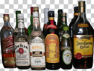 Collection Of Alcohol Bottles PNG