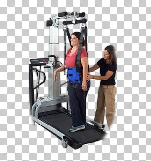 Treadmill Weightlifting Machine Ability Fitness Center Neurological Disorder Spinal Cord Injury PNG