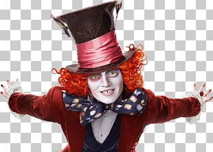 Alice Through The Looking Glass The Mad Hatter Johnny Depp Alice: Madness Returns PNG