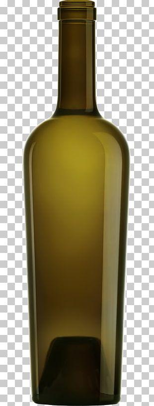 White Wine Glass Bottle Distilled Beverage PNG