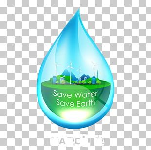 Energy Conservation Water Icon PNG