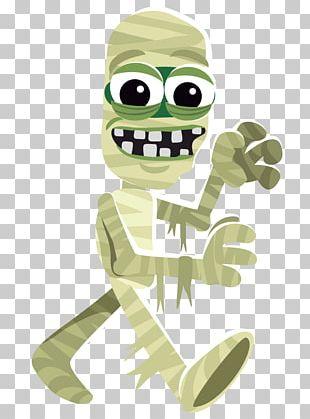 Frankensteins Monster Cartoon Halloween PNG