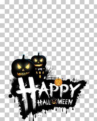 2017 Halloween Happy PNG