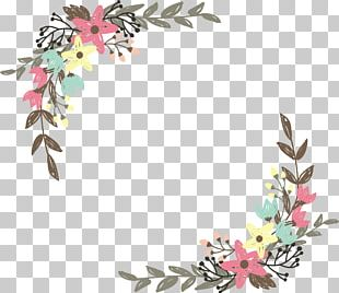 Border Flowers Wildflower PNG