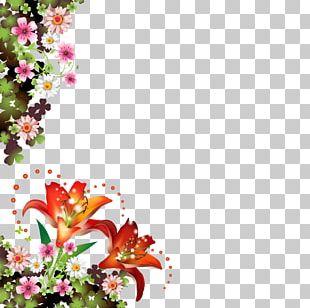 Frames Flower Borders And Frames Floral Design PNG