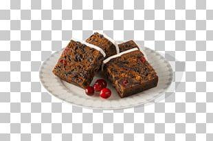 Chocolate Brownie Christmas Pudding Hot Cross Bun Fruitcake Christmas Cake PNG