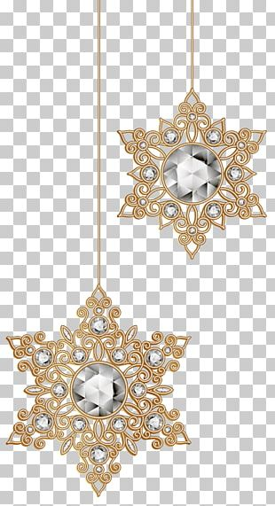 Christmas Ornament Snowflake PNG