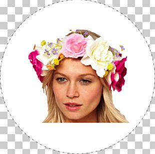 Floral Design Flower Wreath Hair Fashion PNG