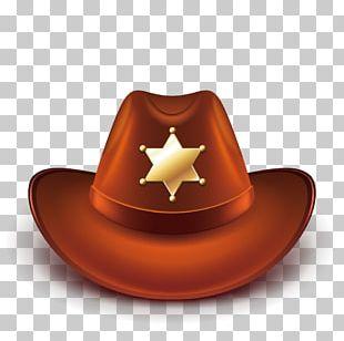 Hat N Boots Cowboy Hat PNG