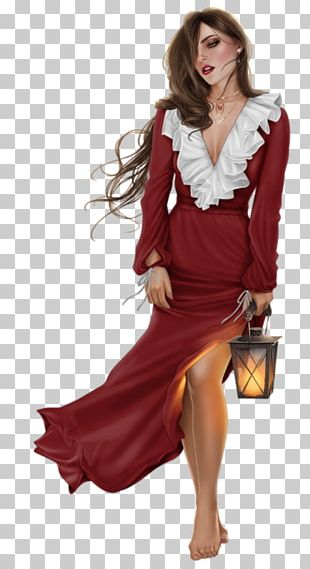 Woman Fashion Drawing Illustration PNG