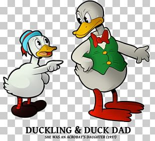 Duck Father Mother Daughter Husband PNG