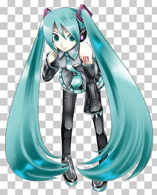 Hatsune Miku Vocaloid Character Blog Link PNG