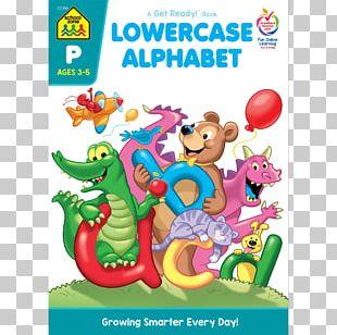 Lowercase Alphabet Uppercase Alphabet School Zone Publishing Company Big Preschool Workbook PNG