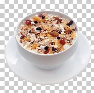 Muesli Breakfast Cereal Milk Corn Flakes PNG