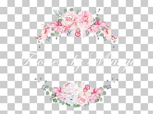Wedding Invitation Floral Design Flower Banner PNG