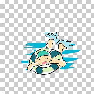 Swimming Cartoon Sport PNG