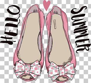 Pink High-heeled Footwear Shoe Illustration PNG