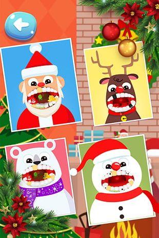 Dentist Christmas Doctor Game Santa Claus Christmas Dentist Office Santa PNG