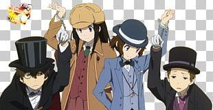 Hyouka Hōtarō Oreki Eru Chitanda Sherlock Holmes Classic Literature Club PNG
