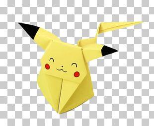 Origami Pikachu PNG