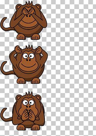 T-shirt Spreadshirt Three Wise Monkeys Good PNG