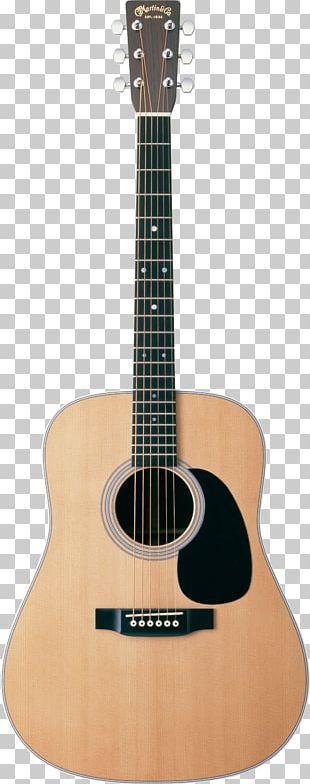 C. F. Martin & Company Acoustic Guitar Martin D-28 Dreadnought PNG