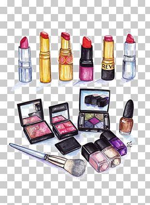 MAC Cosmetics Drawing Lip Gloss Illustration PNG
