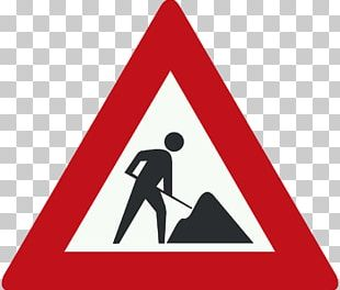 Roadworks Traffic Sign Architectural Engineering Road Signs In Singapore PNG