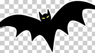 Halloween Bats Spooky Bat Open PNG