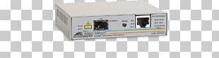 Fiber Media Converter Small Form-factor Pluggable Transceiver Allied Telesis Single-mode Optical Fiber Fast Ethernet PNG