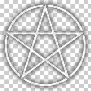 Pentacle Pentagram Wicca Witchcraft Amulet PNG