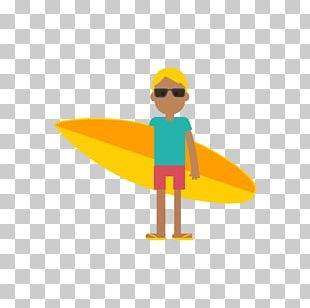 Surfing Surfboard Icon PNG