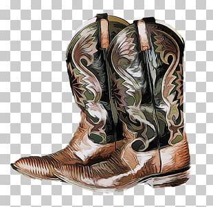 Cowboy Boot T-shirt Footwear PNG
