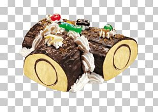 Sponge Cake Swiss Roll Yule Log Ice Cream Chocolate PNG