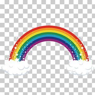 Rainbow Cookie Cupcake PNG